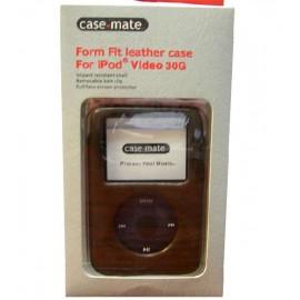 Funda de cuero ajustable para iPod 30G
