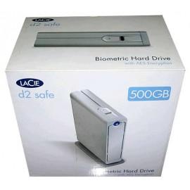 LaCie d2 safe 500 GB Biometric HD