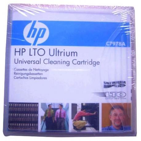 HP LTO Ultrium Cartucho de limpieza