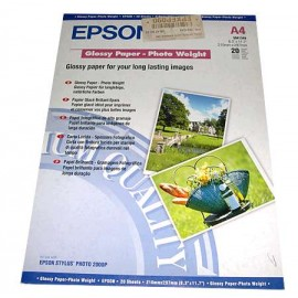 Epson Glossy Paper Photo Weight (A4)