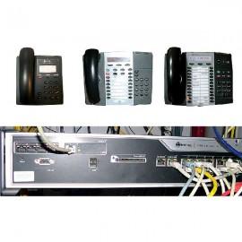 Centralita Mitel 3300 CXI con teléfonos