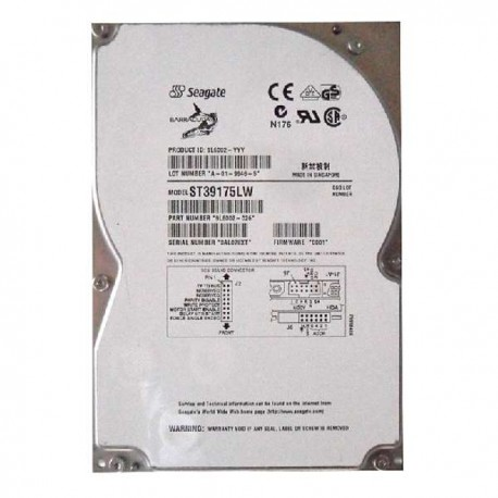 HD Seagate Barracuda st39175lw 9.1 gb