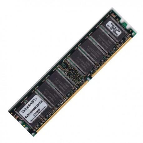 Kit de memoria 256 DDR266 KVR266X64C25