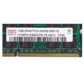 Kit de memoria SODIMM 1GB  PC2- 5300-LT
