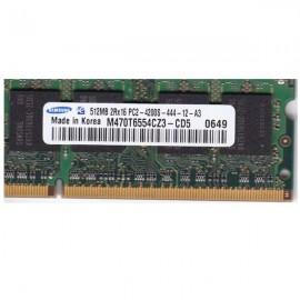 Kit de memoria SODIMM 512  PC2- 4200-LT