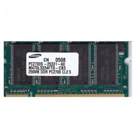 Kit de memoria SODIMM 256 PC2- 2700-LT